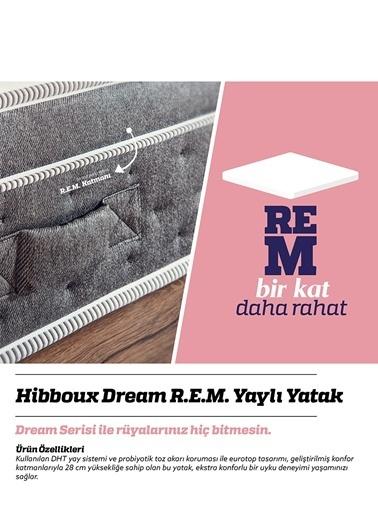Hibboux Dream R.E.M. Yaylı Yatak 90x190 Cm  Beyaz